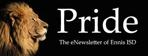 Logo for Pride eNewsletter
