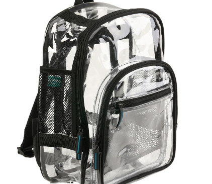 Clear Backpacks No Longer Required